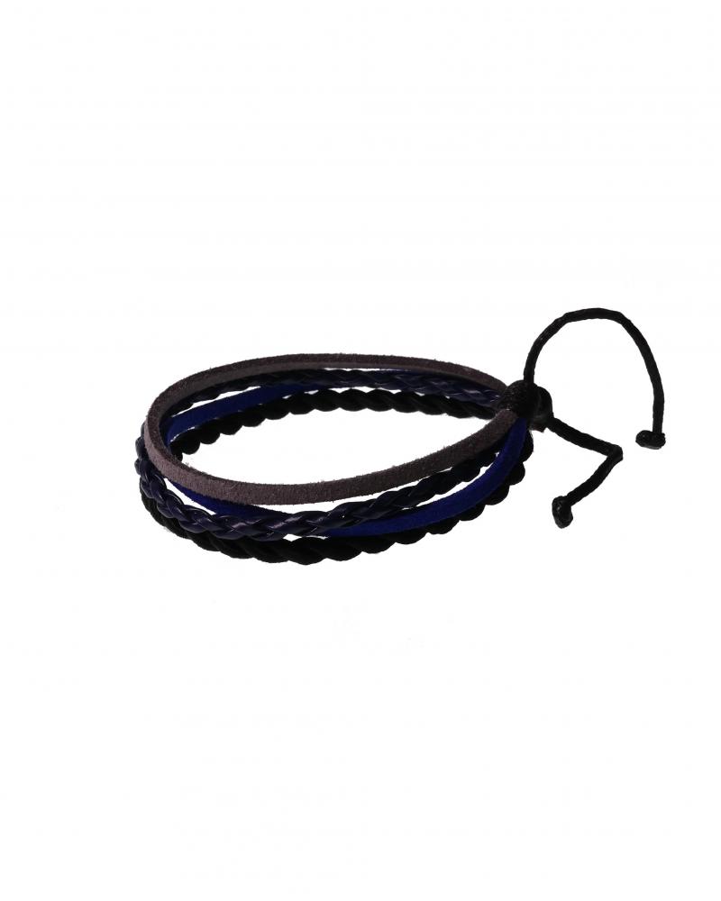 Black Ivy Leather Bracelet Knot Method