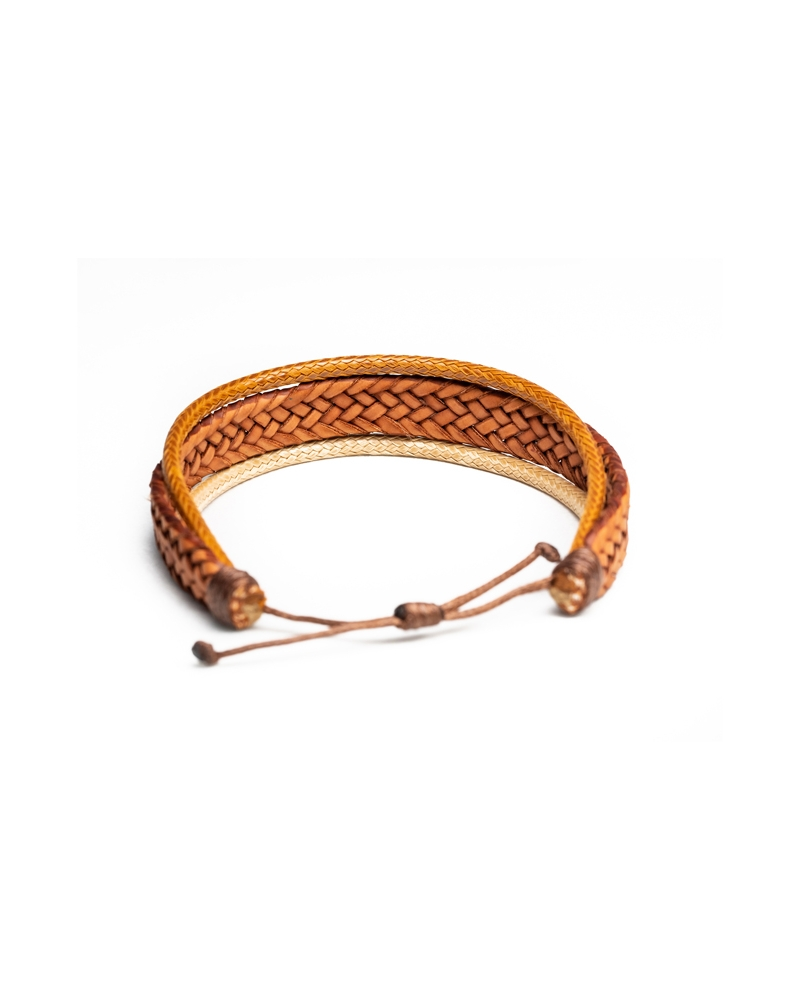 Sarafi Leather Bracelet , quality leather and materials. Perfect combo of brown