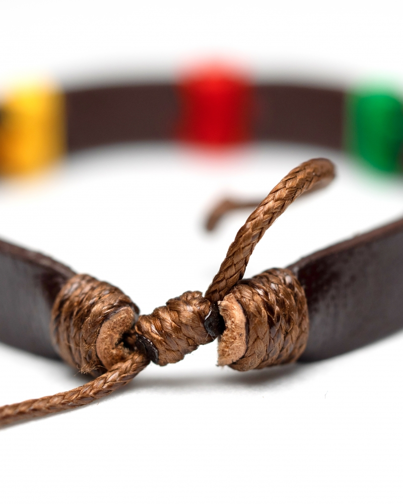 Damian Leather Bracelet with quality materials and perfect colors