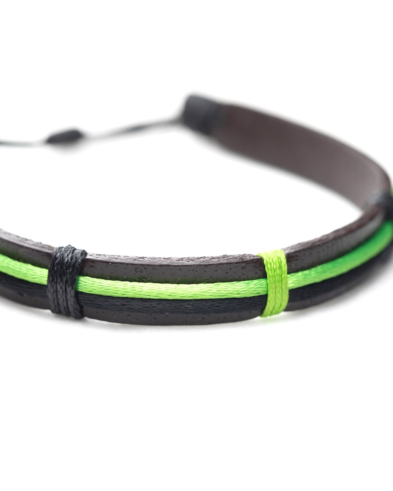 Survivor Leather Bracelet