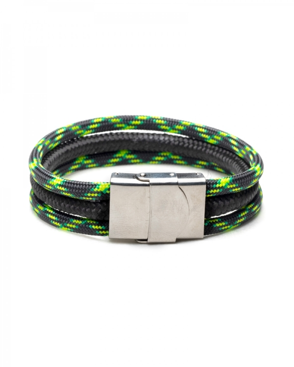Locked Zombie Paracod Bracelet made with stainless steel gripping sistem and paracod cord