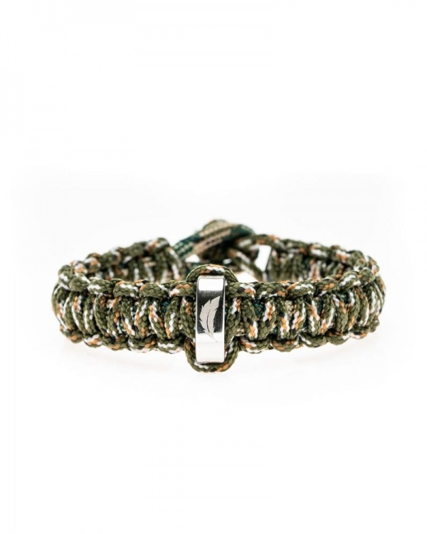 Bratara din snur paracord Army Knot